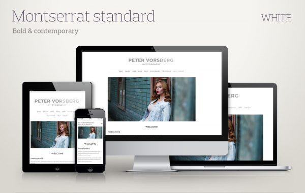 Template Montserrat-standard-white screenshots