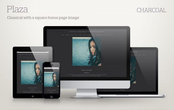Template Plaza-charcoal screenshots