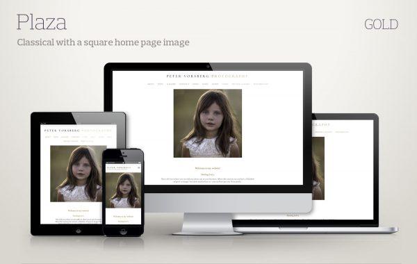 Template Plaza-gold screenshots